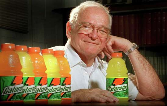 Dr. Robert Cade: San Antonio native invented Gatorade at Florida, after his undergrad work at UT. Photo: AP Photo / The Gainesville Sun / The Gainesville Sun
