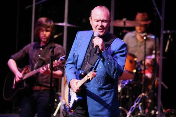 Glen Campbell sang his hits of the 1960s and '70s at the Grand 1894 Opera House, including 'Galveston.'