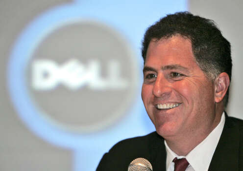 Michael Dell: Chairman, CEO and founder of computer company Dell, Inc. Photo: Ahn Young-joon, Associated Press / AP