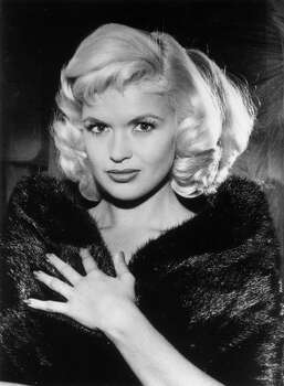 "Jayne Mansfield: Sex symbol and actress who won 1957 Golden Globe for most promising newcomer. Known for ""The Wild, Wild World of Jayne Mansfield,"" ""Will Success Spoil Rock Hunter?"" and ""The Girl Can't Help It."" She died in a violent car crash at age 34. Photo: Hulton Archive / Getty Images / Hulton Archive"