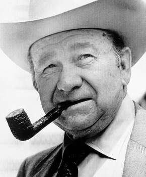 Tex Ritter: Actor in Westerns, member of the Country Music Hall of Fame. Photo: Associated Press / AP1974