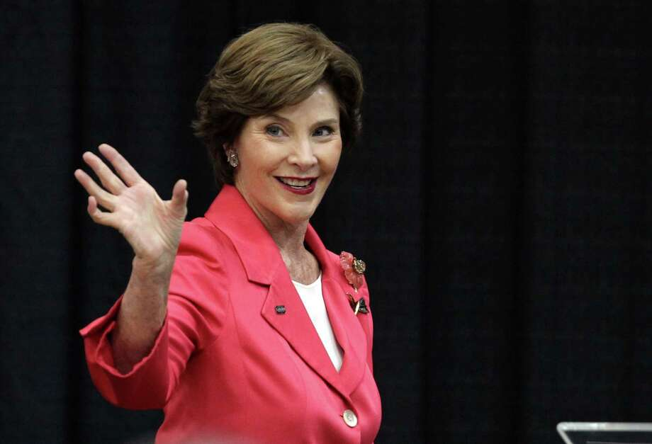 Laura Bush: First Lady, wife of President George W. Bush. Photo: AP Photo / Lubbock Avalanche-Journal,  Stephen Spillman