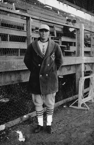 Bibb Falk: Played for the Chicago White Sox, replacing Shoeless Joe Jackson after the 1919 Black Sox scandal, and the Cleveland Indians. Coached the Indians and the Boston Red Sox before returning to UT to coach. Disch-Falk Field was named in his honor. Photo: Courtesy Photo