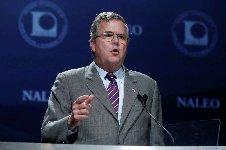 Jeb Bush: Former governor of Florida, son of President George H. W. Bush and First Lady Barbara Bush and brother of President George W. Bush. Photo: Charles Dharapak, Associated Press