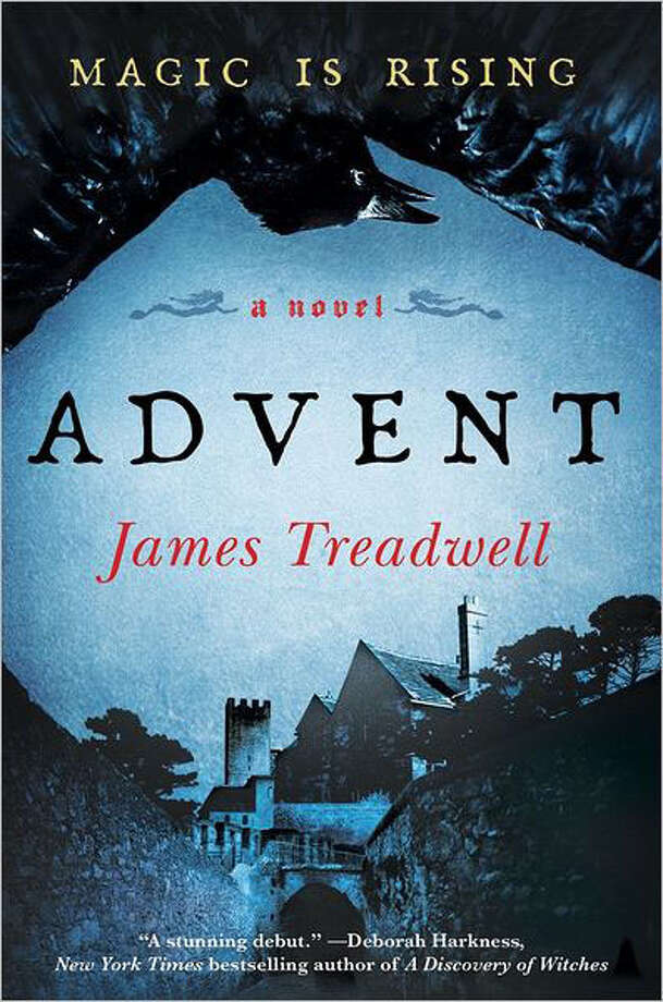 "Magic blurs the line between adult horror and traditional young adult fiction in James Treadwell's debut fantasy novel ""Advent,"" the first of a planned trilogy. Photo: James Treadwill"