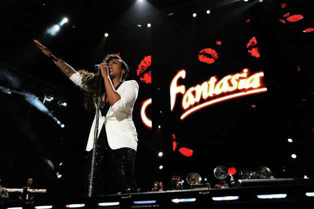 Fantasia performs at the Essence Music Festival in New Orleans on Sunday, July 8, 2012. (Photo by Cheryl Gerber/Invision/AP) Photo: Cheryl Gerber, INVL / 2012 Invision