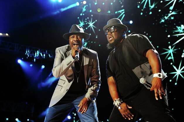 Anthony Hamilton performs at the Essence Music Festival in New Orleans on Sunday, July 8, 2012.  (Photo by Cheryl Gerber/Invision/AP) Photo: Cheryl Gerber, INVL / 2012 Invision