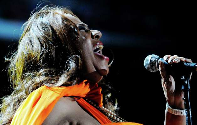 Aretha Franklin performs at the Essence Music Festival in New Orleans on Sunday, July 8, 2012.  (Photo by Cheryl Gerber/Invision/AP) Photo: Cheryl Gerber, INVL / 2012 Invision