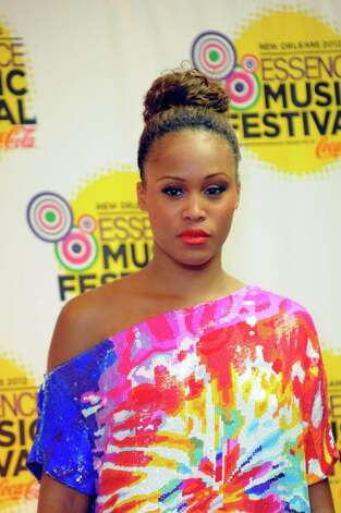 Eve poses for photos at the Essence Music Festival in New Orleans on Sunday, July 8, 2012.  (Photo by Cheryl Gerber/Invision/AP) Photo: Cheryl Gerber, INVL / 2012 Invision