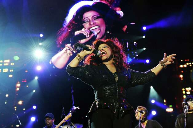 Chaka Khan performs at the Essence Music Festival in New Orleans on Sunday, July 8, 2012.  (Photo by Cheryl Gerber/Invision/AP) Photo: Cheryl Gerber, INVL / 2012 Invision