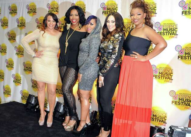 R&B Divas pose for photos at the Essence Music Festival in New Orleans on Sunday, July 8, 2012.  (Photo by Cheryl Gerber/Invision/AP) Photo: Cheryl Gerber, INVL / 2012 Invision