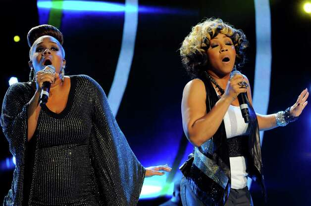 Mary Mary performs at the Essence Music Festival in New Orleans, Saturday, July 7, 2012. (Photo by Cheryl Gerber/Invision/AP) Photo: Cheryl Gerber, INVL / 2012 Invision