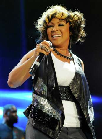 Erica Campbell of Mary Mary performs at the Essence Music Festival in New Orleans, Saturday, July 7, 2012. (Photo by Cheryl Gerber/Invision/AP) Photo: Cheryl Gerber, INVL / 2012 Invision