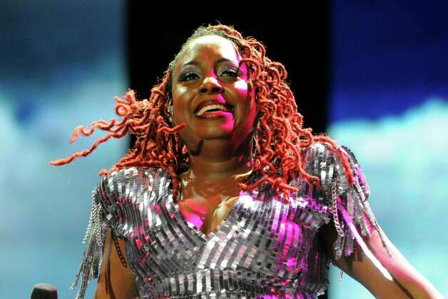 Ledisi performs at the Essence Music Festival in New Orleans, Saturday, July 7, 2012. (Photo by Cheryl Gerber/Invision/AP) Photo: Cheryl Gerber, INVL / 2012 Invision