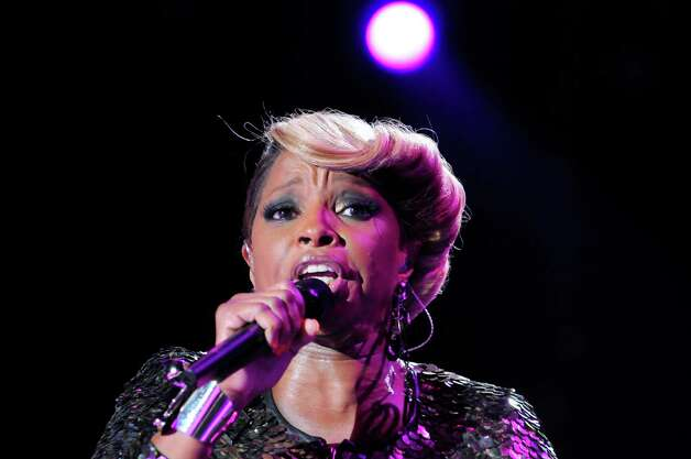 Mary J. Blige performs at the Essence Music Festival in New Orleans on  Saturday,  July 7, 2012.  (Photo by Cheryl Gerber/Invision/AP) Photo: Cheryl Gerber, INVL / 2012 Invision