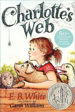 """Charlotte's Web"" Photo: E.B. White"