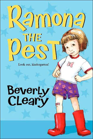 """Ramona the Pest"" by Beverly Cleary Photo: Beverly Cleary"