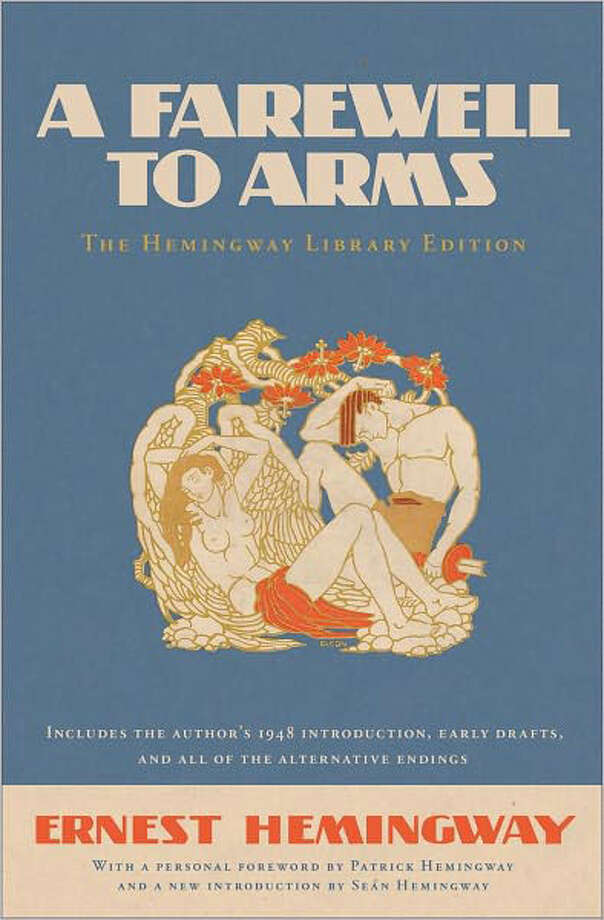 """A Farewell to Arms; the Hemingway Library Edition"" by Ernest Hemingway Photo: Cover"