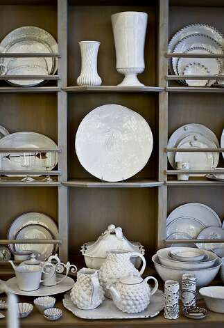 Astier De Villate earthenware is seen at Sue Fisher King on Wednesday, June 27, 2012 in San Francisco, Calif. Photo: Russell Yip, The Chronicle