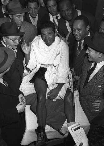 Boxer Sugar Ray Robinson had Alzheimer's, diabetes and hypertension. Photo: AP / AP