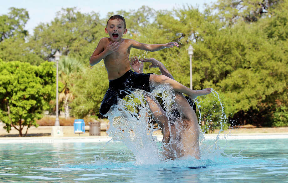 San Pedro Springs Park, (pictured here) the nation's second-oldest municipal park, and 