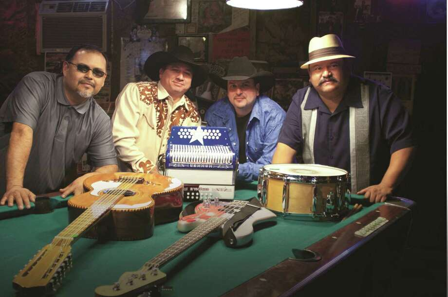 "Conjunto band Los TexManiacs is one of the San Antonio acts in contention for the Tejano category, which is so popular locally, with ""Texas Towns and Tex-Mex Sounds."" Photo: Smithsonian Folkways Recordinigs"