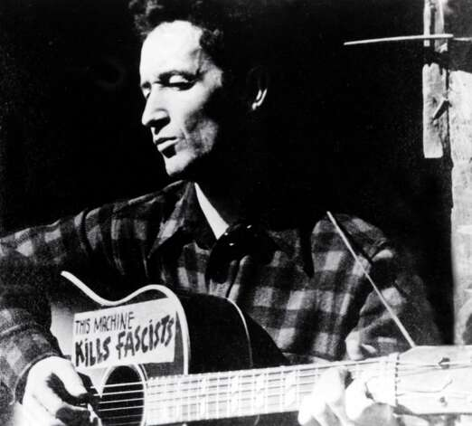 Folk-music legend Woody Guthrie influenced Bob Dylan, among others, and left an indelible mark through song. Photo: GAB Archive, Redferns / Redferns