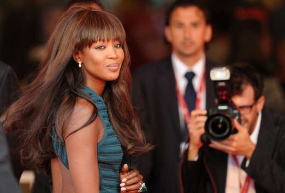 "Model Naomi Campbell arrives for the screening of ""Miral"" during the 67th Venice Film Festival on September 2, 2010 in the Palazzo del cinema at Venice Lido. ""Miral"" by US director Julian Schnabel is competing for the Golden Lion in the Venezia 67 category.   AFP PHOTO / ALBERTO PIZZOLI (Photo credit should read ALBERTO PIZZOLI/AFP/Getty Images) (AFP/Getty Images)"