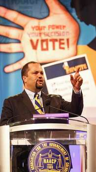 """""""Simply put, the NAACP will never stand by as any state tries to encode discrimination into law,"""" Jealous said. Photo: Michael Paulsen, . / © 2012 Houston Chronicle"""