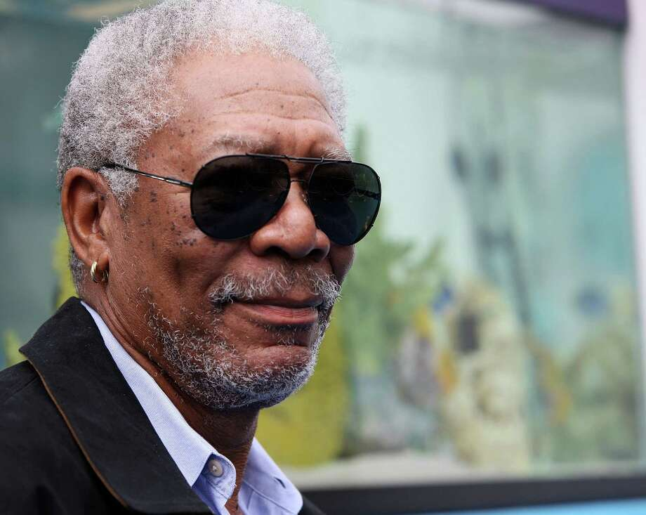 "Morgan Freeman has played those on the bottom rungs of society - and God. His latest role is of an alcoholic novelist in a wheelchair in ""The Magic of Belle Isle."" Photo: Chris Weeks / 2011 Getty Images"