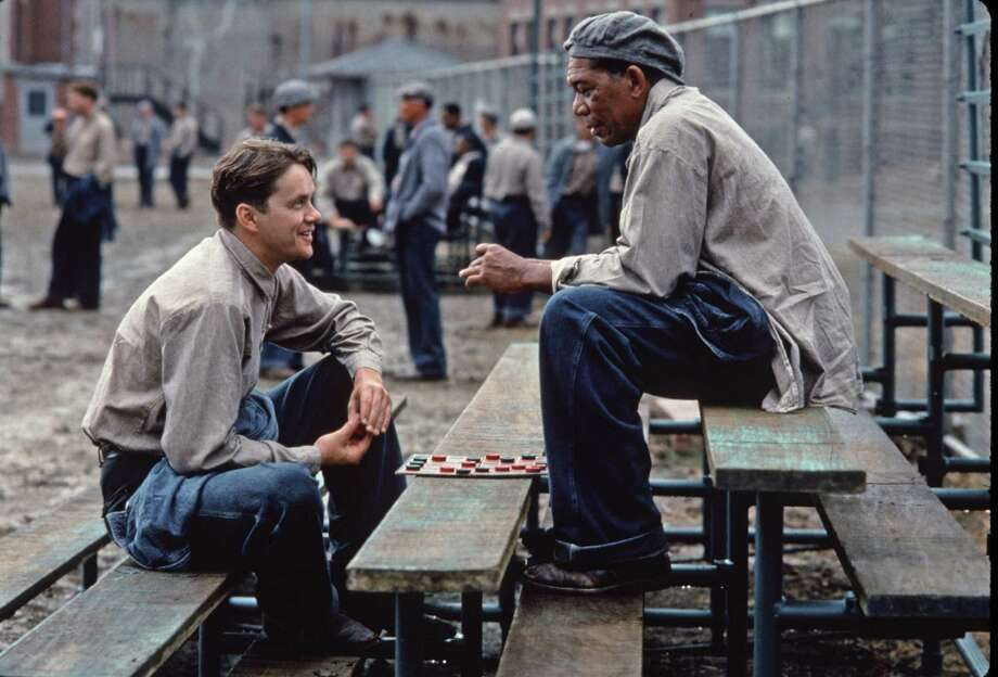 "90% Fresh: The Shawshank Redemption, 1994Also based on a King novella, ""The Shawshank Redemption"" starred Morgan Freeman and Tim Robbins. Photo: Michael Weinstein / handout slide"