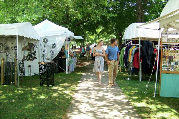 The Guilford Craft Expo takes place Thursday-Sunday, July 19-22. Photo: Contributed Photo