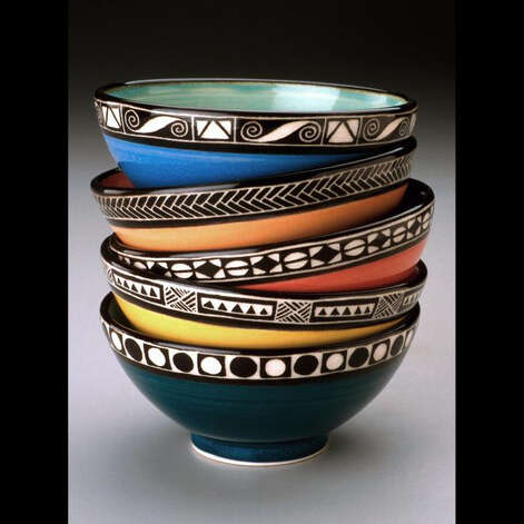 Pottery by James Guggina will be featured at the Guilford Craft Expo July 19-22. Photo: Contributed Photo
