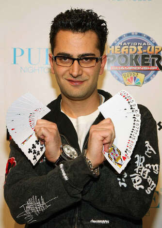 "Antonio ""The Magician"" Esfandiari walked away from the World Series of Poker with $18,346,673. Photo: Ethan Miller, Getty Images"