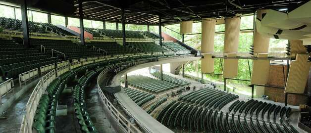 A view of the cleaned up seating area at Saratoga Performing Arts Center on Monday, July 10, 2012 in Saratoga Springs, NY.  A series of concerts by the band Phish was held at SPAC this past weekend.   (Paul Buckowski / Times Union) Photo: Paul Buckowski