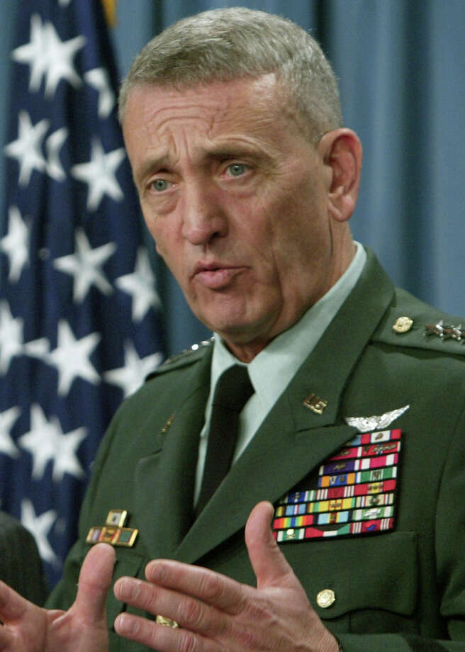 Tommy Franks: U.S. Army General. As Commander of the United States Central Command, he lead military operations in Afghanistan in response to the September 11 attacks, and Operation Iraqi Freedom to overthrow Saddam Hussein. He's now retired. Photo: Charles Dharapak, Associated Press