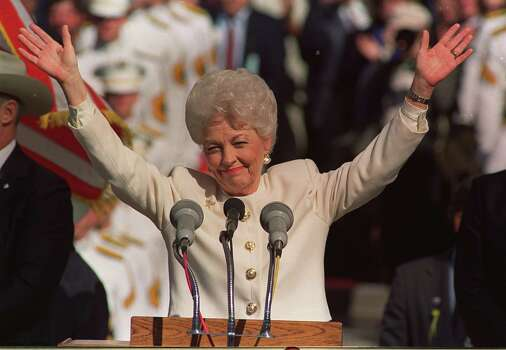 Ann Richards: 45th Governor of Texas, and second woman to serve as Governor, she reformed the state's prison system, created the state lottery, focused on site-based education and stressed government efficiency by authorizing audits of every state agency. Photo: Michelle Bidwell, Associated Press / AP
