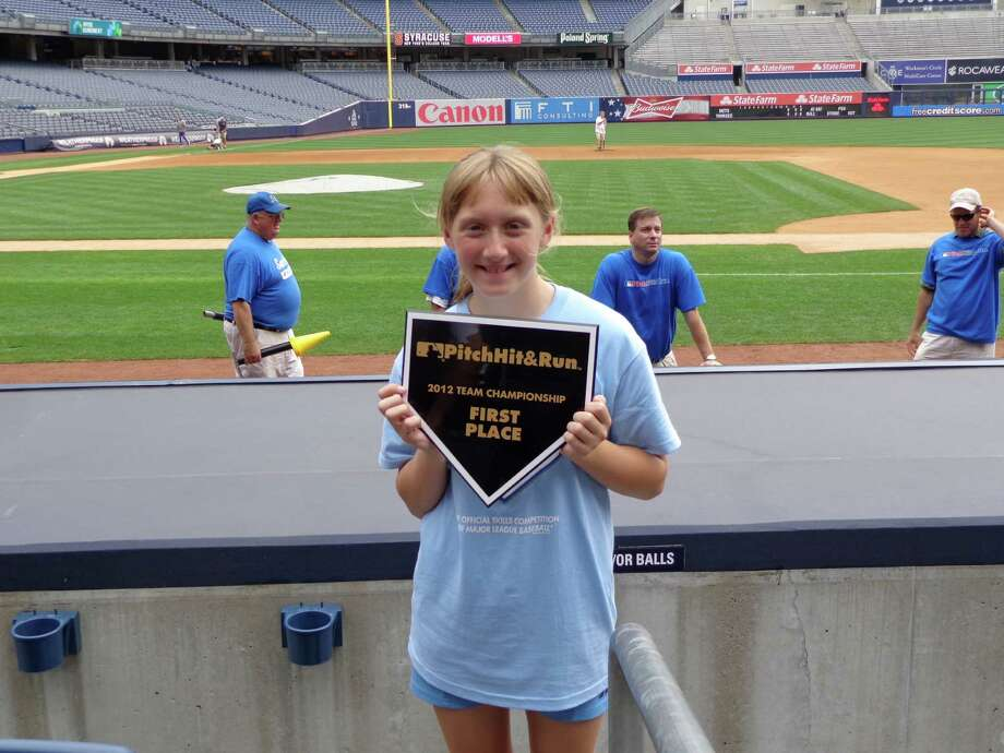Meghan Dougherty will participate in the Pitch, Hit & Run national finals on Monday at 3:15 p.m. in Kauffman Stadium, the day before the All-Star Game. Dougherty won her age group in the MLB Team Championship on June 10 in Yankee Stadium.