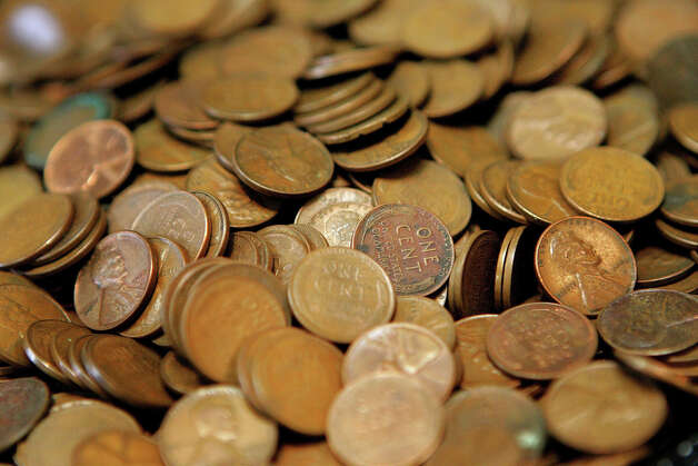 American officials have contemplated eliminating the U.S. penny, which costs two cents to make. Photo: Tim Boyle, Getty Images / 2006 Getty Images