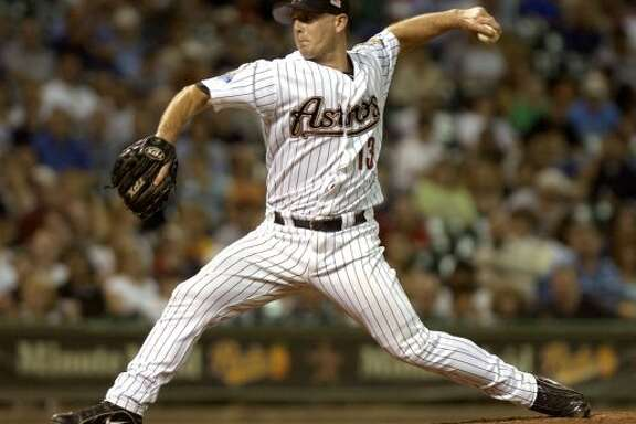 2001: Billy Wagner    Wagner's second All-Star game ended after pitching 0.1 of an inning, one of the shortest outings in All-Star game history. (BRETT COOMER / Chronicle)