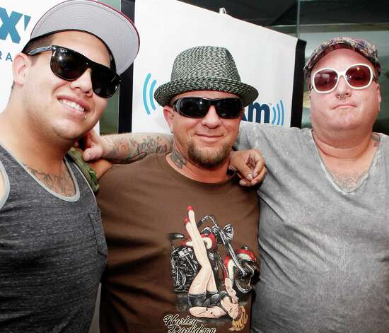 (L-R) Rome Ramirez, Bud Gaugh and Eric Wilson of Sublime with Rome visit SiriusXM Studio on July 27, 2011 in New York City. Photo: Cindy Ord, Courtesy Getty Images / 2011 Getty Images