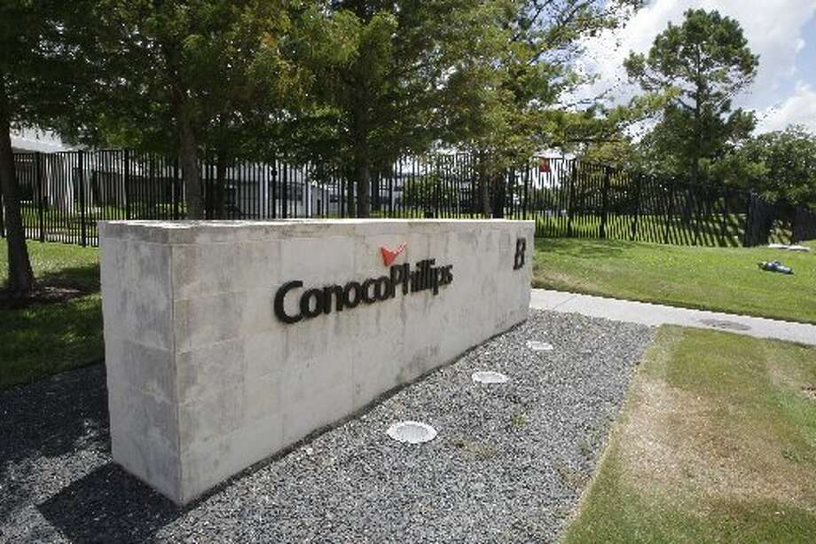 No. 5 ConocoPhillips, Houston: Fortune said ConocoPhillips, which is ranked 45th overall, made approximately $63.4 billion in revenue in 2012.  (David Zalubowski / Associated Press) Photo: Thomas B. Shea, Special To The Houston Chronicle
