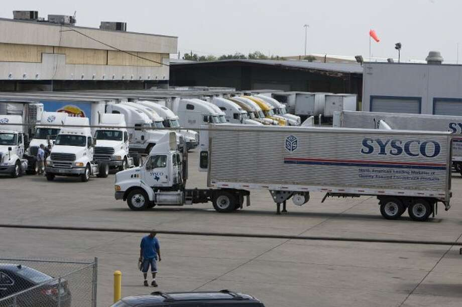 No. 8: Sysco, Houston: Fortune said Sysco, which is ranked 65 overall, made approximately $42.4 billion in revenue in 2012.  (James Nielsen / Houston Chronicle)