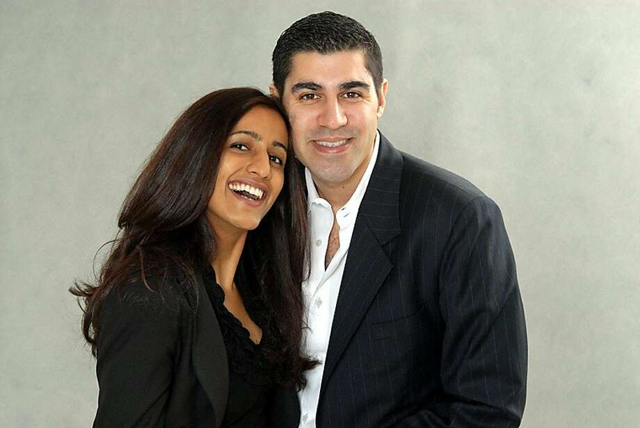 Ayesha Khanna and Parag Khanna Photo: Courtesy Of The Khannas
