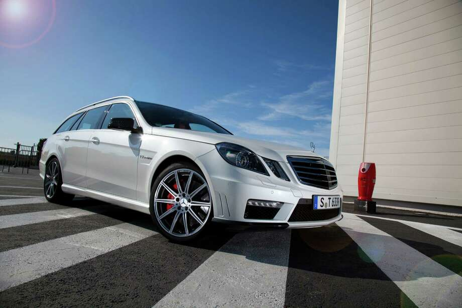 Mercedes says its 2012 E63 Wagon goes from 0 to 60 mph in 4.2 seconds. Photo: Mercedes-Benz, MCT / Mercedes-Benz