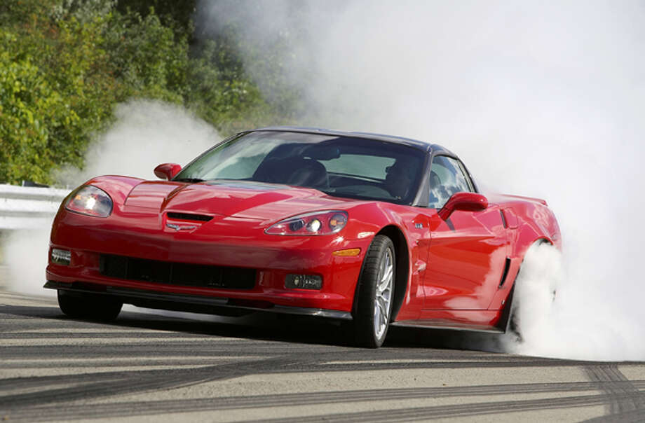 A 2013 Chevrolet Corvette ZR1. Photo: .