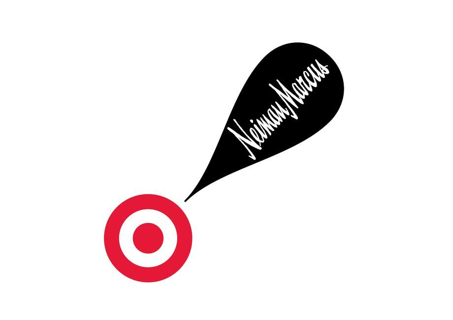This undated image provided by Target shows the logo for the new collaboration between Neiman Marcus and Target. Discounter Target and luxury merchant Neiman Marcus will be working together to sell a holiday collection of items ranging from fashion to sporting goods developed by designers like Oscar de la  Renta and Tory Burch. Photo: AP