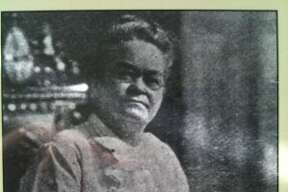 Our trip through Arkansas began in Hot Springs, and one of the first artifacts we saw was this photo of Carrie Nation, the Anti-Saloon League leader. She arrived in 1905, according to the photo caption, but eventually moved away after her prohibitionist campaign failed to generate much enthusiasm. (Ronnie Crocker / Beer, TX)