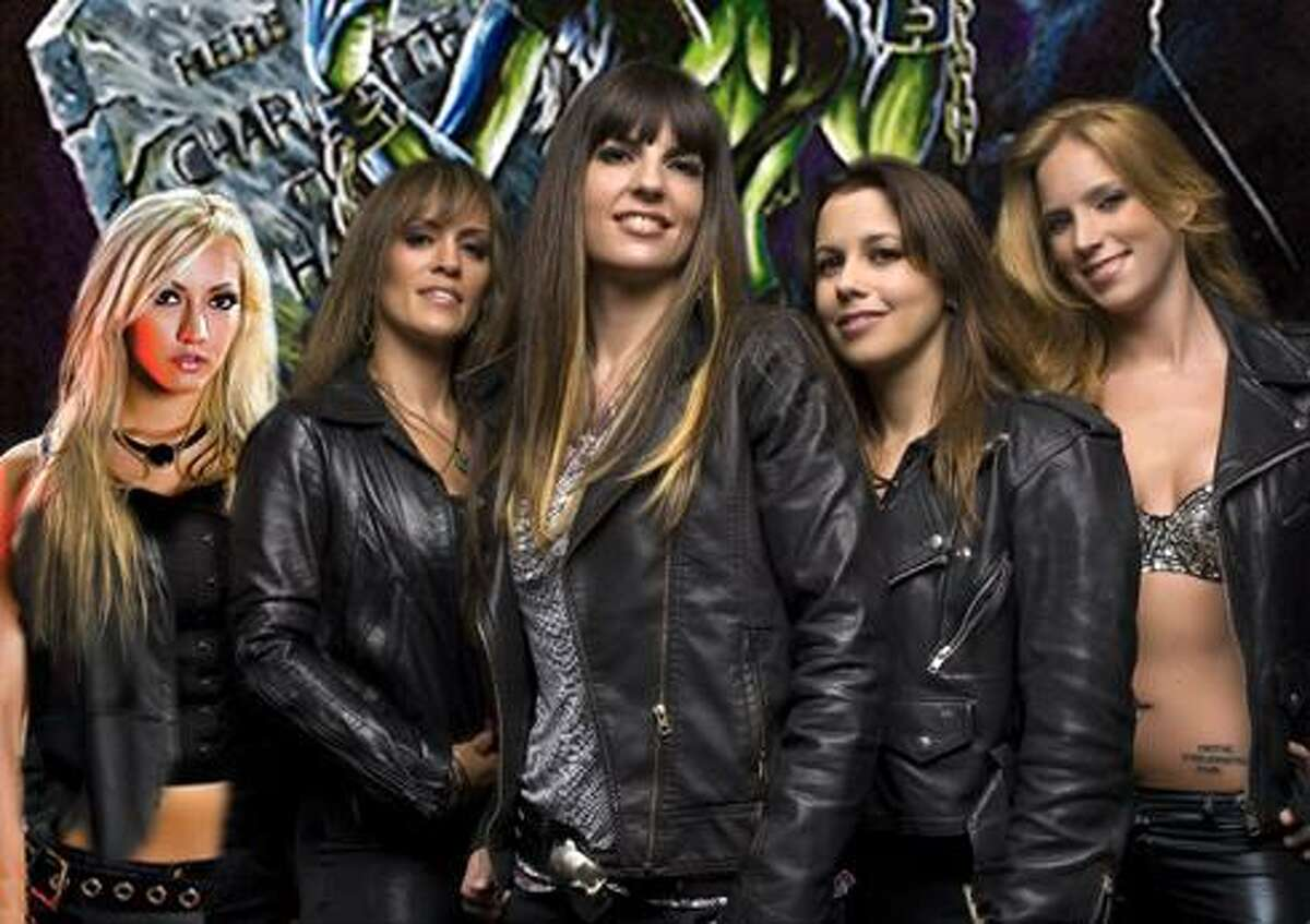 The Iron Maidens bill theselves as the only all-female Iron Maiden tribute band