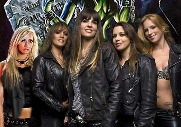 The Iron Maidens bill theselves as the only all-female Iron Maiden tribute band Photo: Robert John Photography